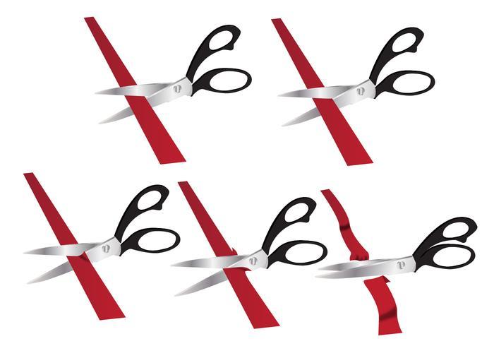 Ribbon cutting process