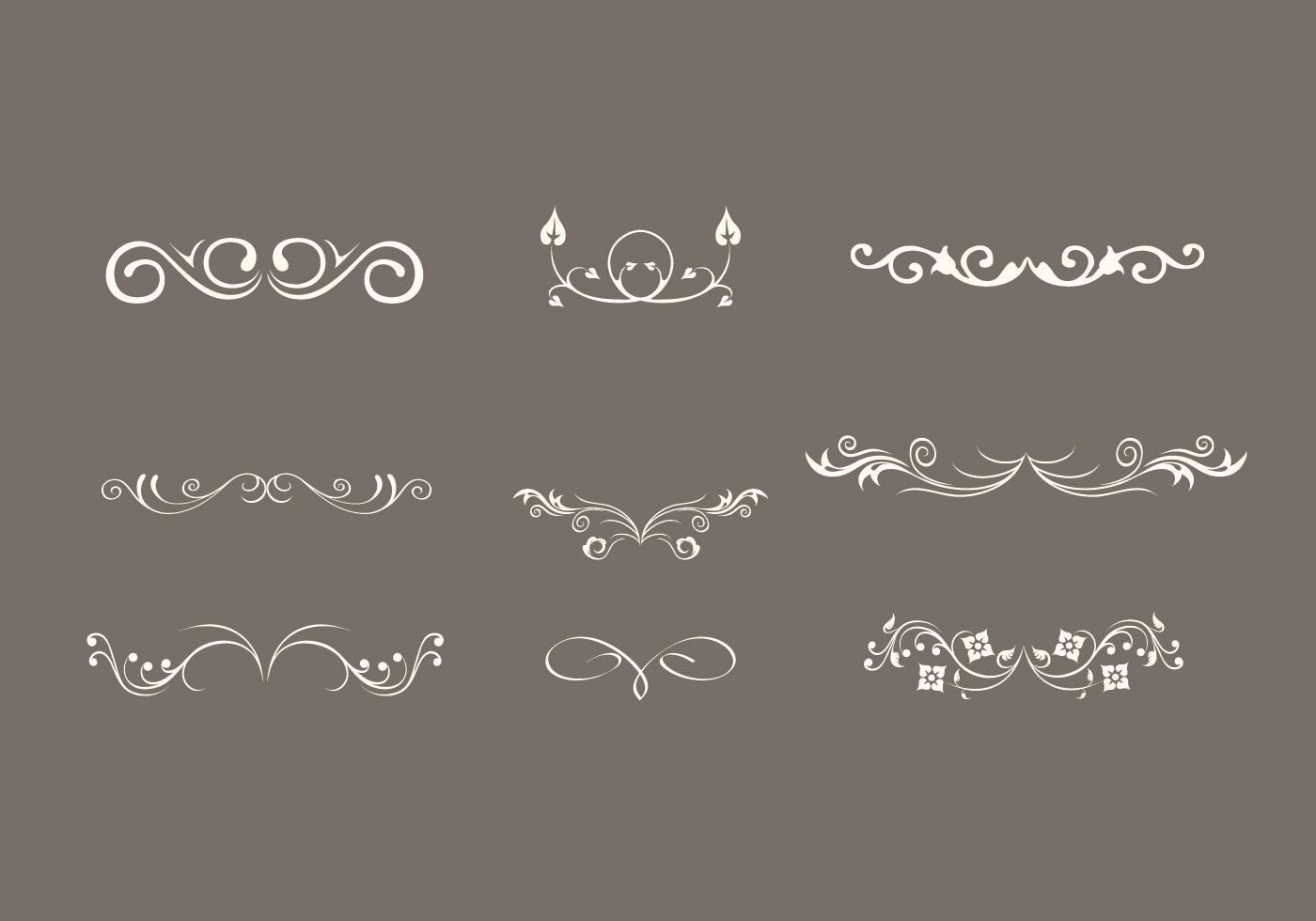 embellishment vector elements