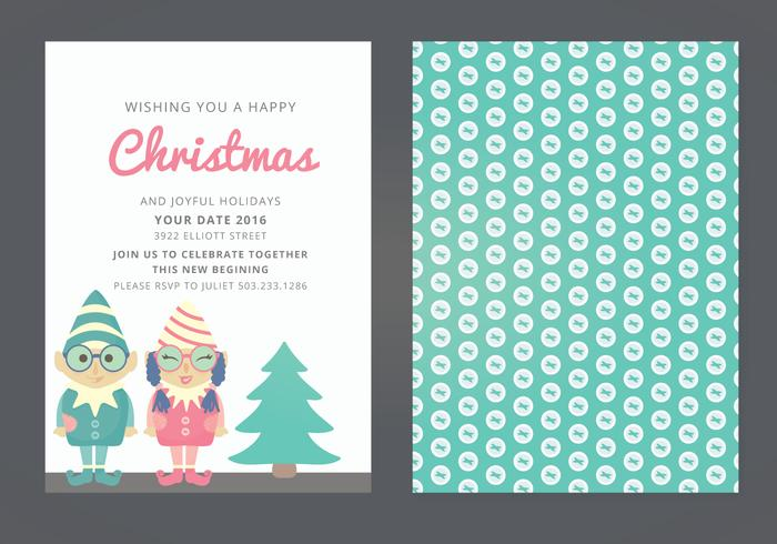 Vektor Weihnachtskarte