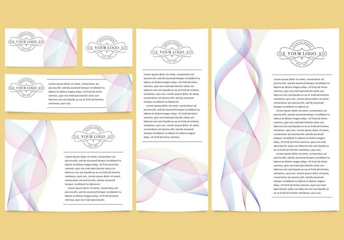 Colorful Lines Brand Templates