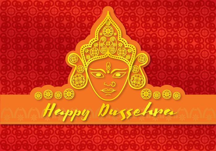 Card Happy Durga