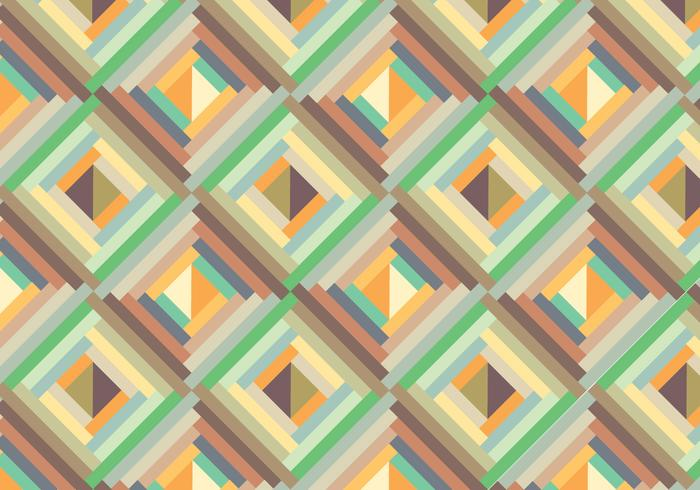 Retro background géométrique