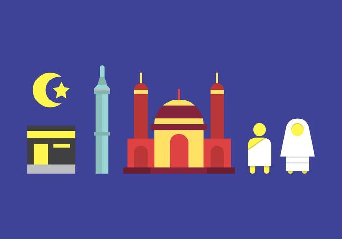 Ilustración libre del vector de Makkah # 2