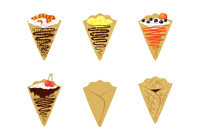 Free Crepes Vector