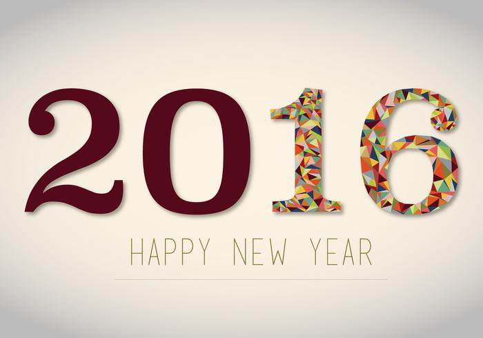 Free 2016 New Years Vector