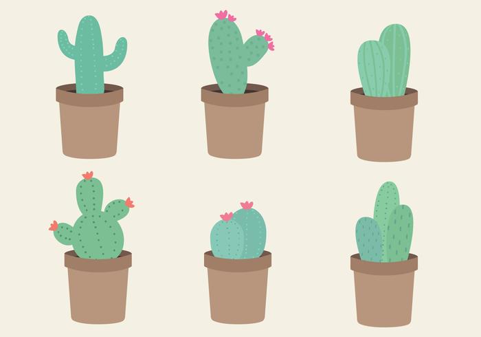 Vecteur libre de cactus
