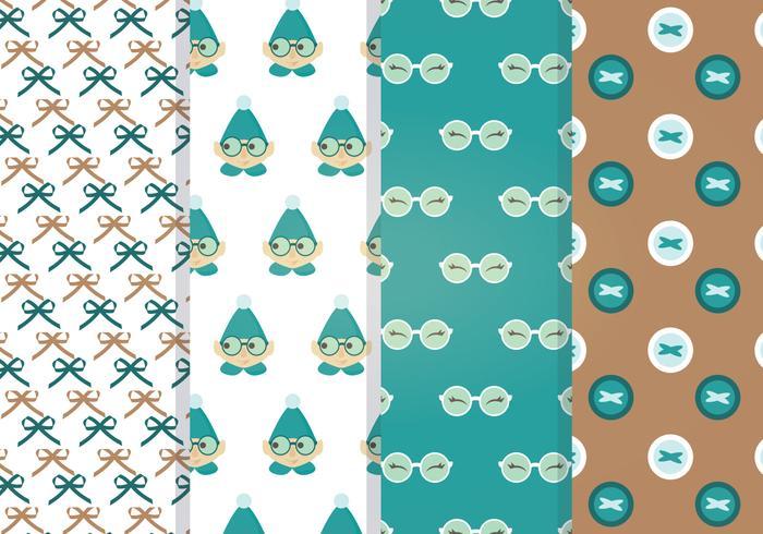 Vector Elf Patterns