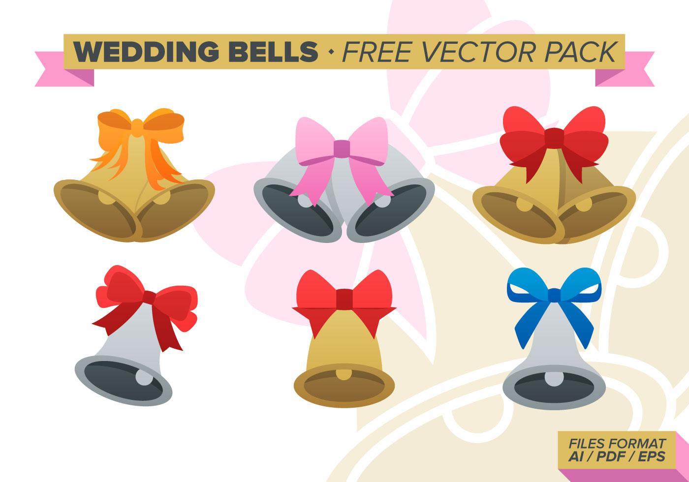 Wedding Bells Free Vector Pack
