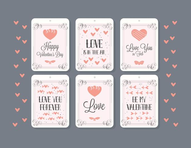 Free Valentines Day Vector Background