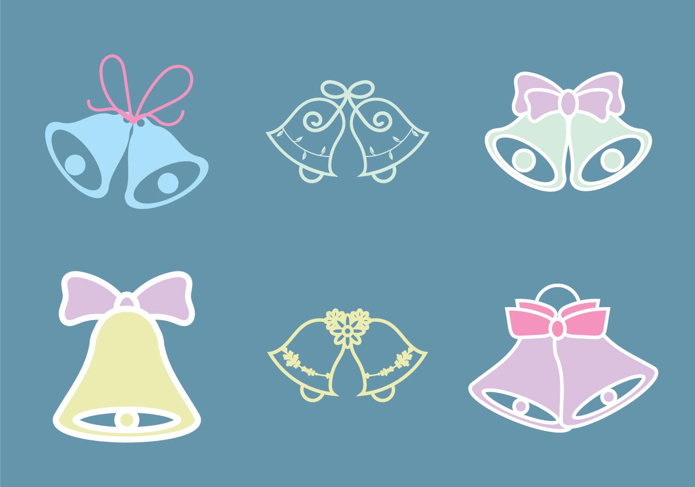 Free Wedding Bells Vector Illustration