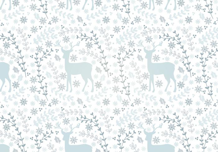 Deer Vector Seamless Pattern
