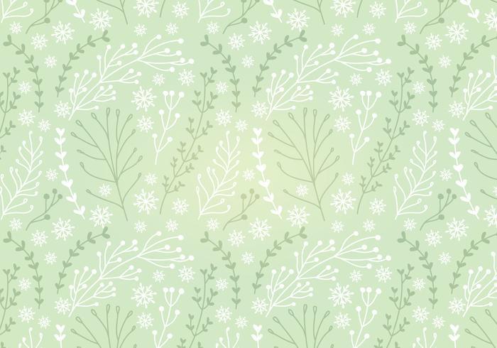 Botanical Vector Seamless Pattern
