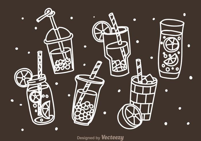 Bebidas Doddle Icons