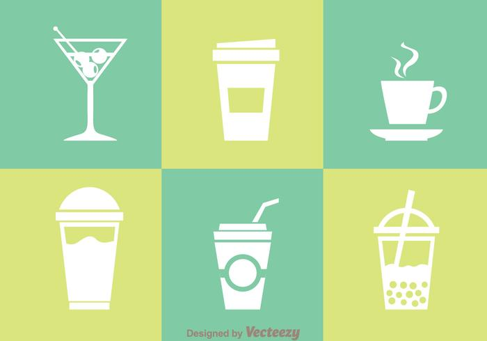Beverages Isolated Icons