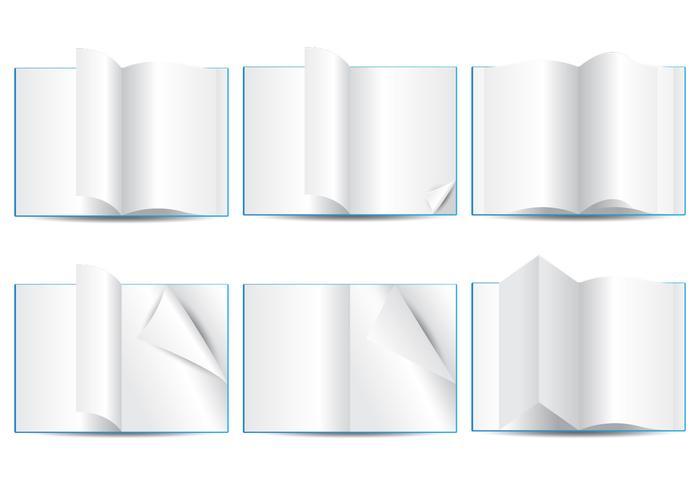 Blank Page Flip
