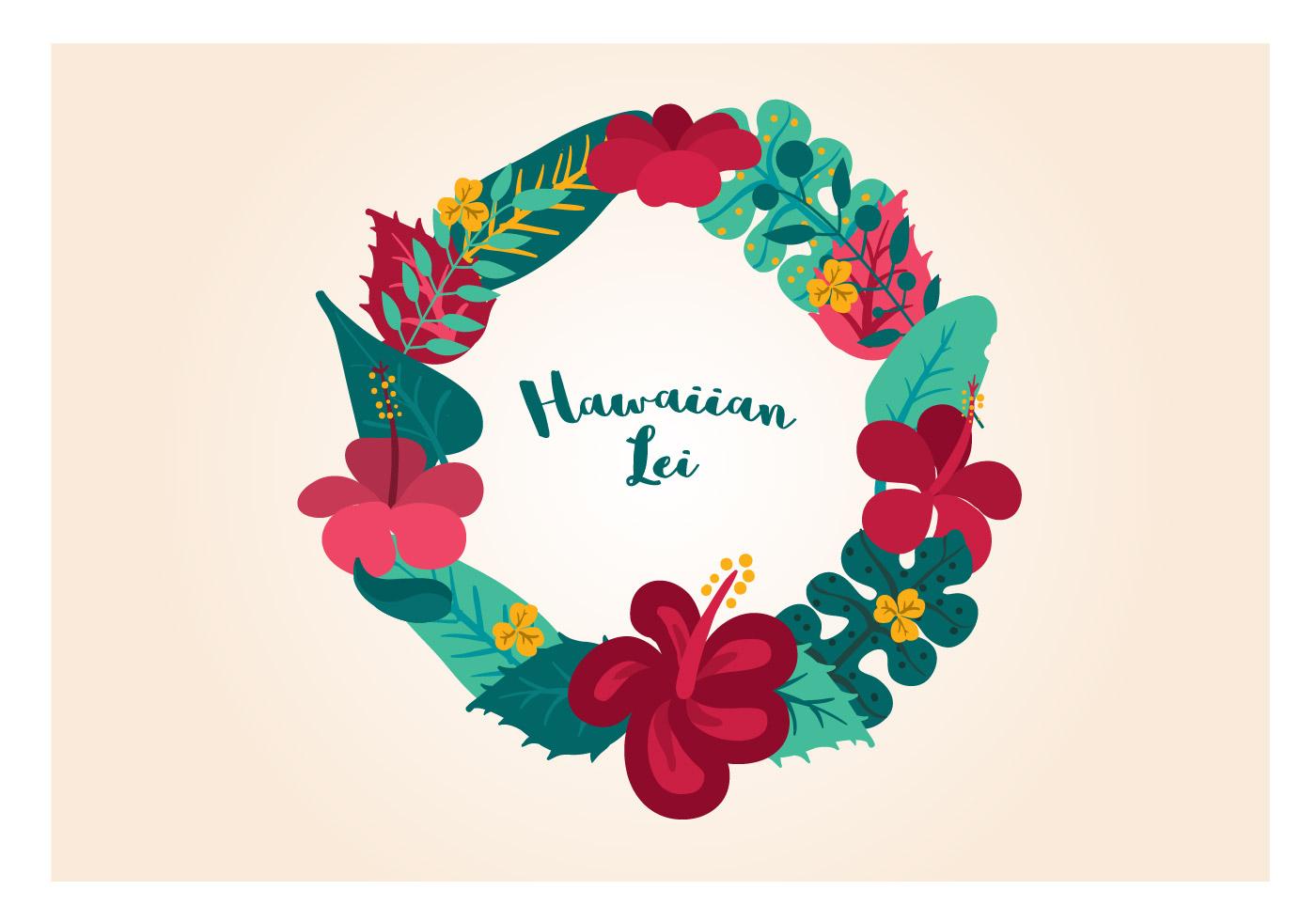 Vector Hawaiian Lei Download Free Vector Art Stock Graphics Images