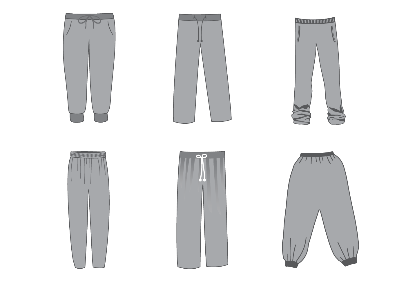 Free Sweatpants Vector Download Free Vector Art Stock