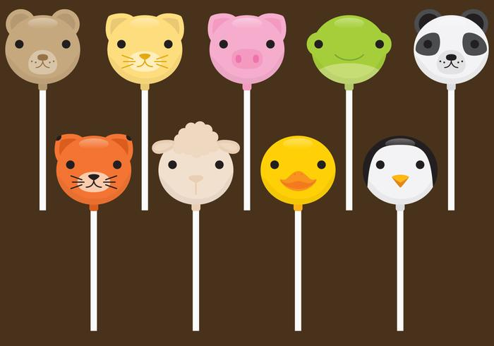 Cute Animals Cake Pops