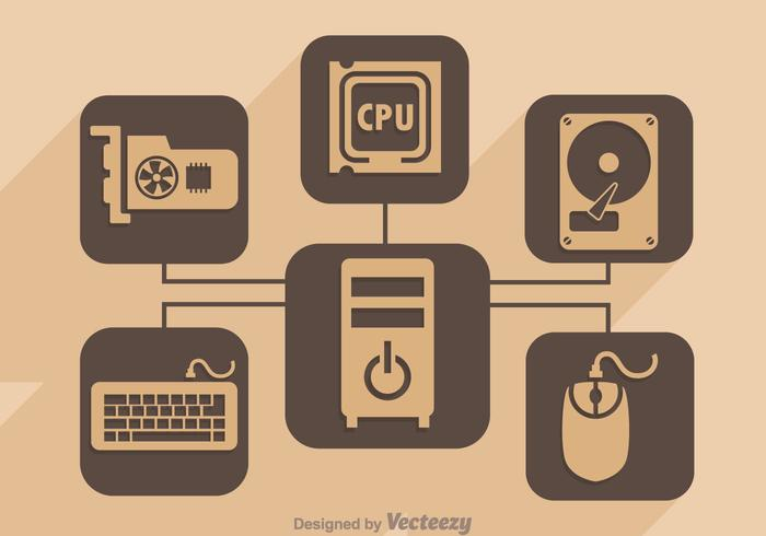 personal computer hardware download free vectors clipart graphics vector art personal computer hardware download