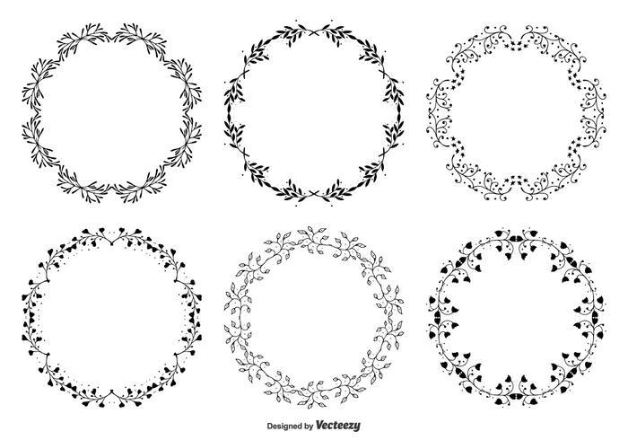 Dekorative Rahmen Set