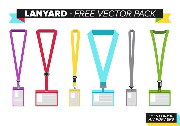 Lanyard Free Vector Pack