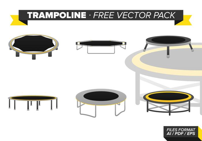Trampoline Free Vector Pack