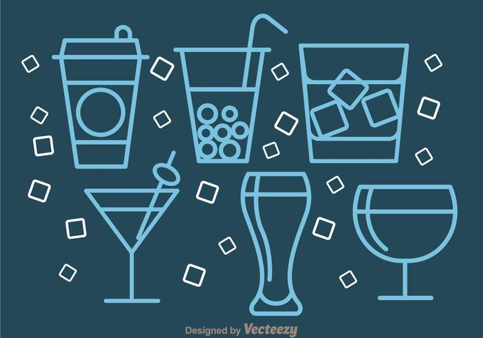 Drinks Outline Icons