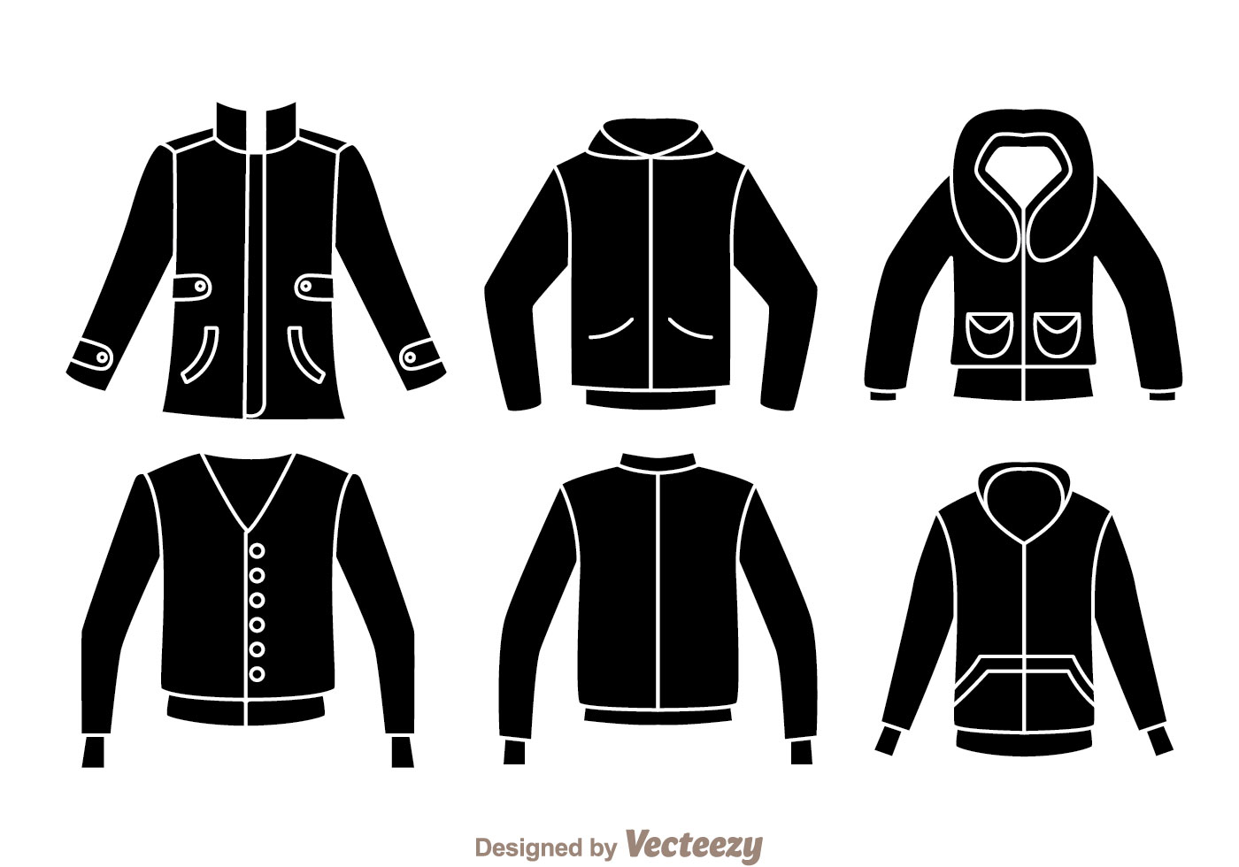 Jacket Black Icons Download Free Vector Art Stock