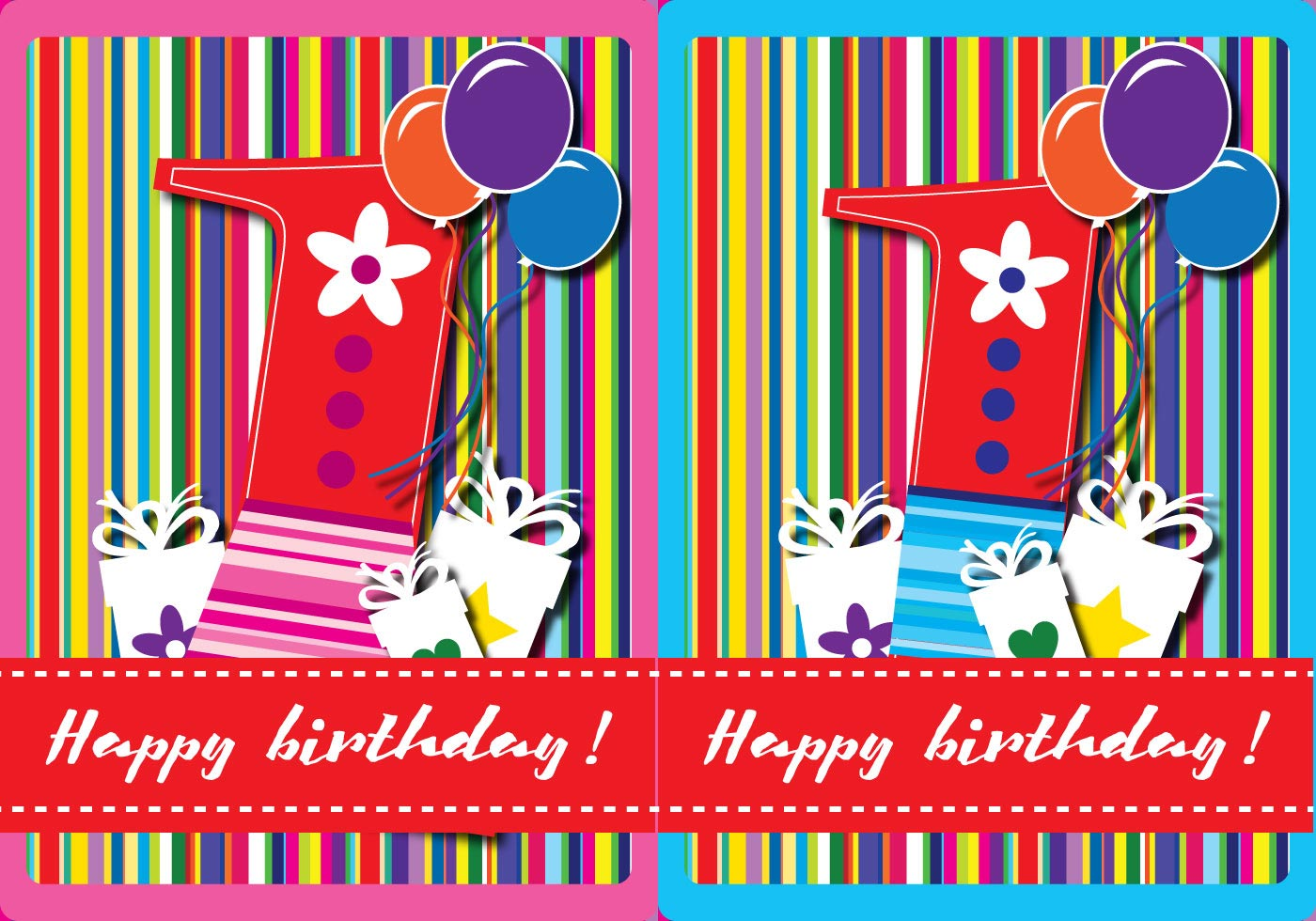 Happy first birthday card download free vector art stock graphics happy first birthday card download free vector art stock graphics images filmwisefo