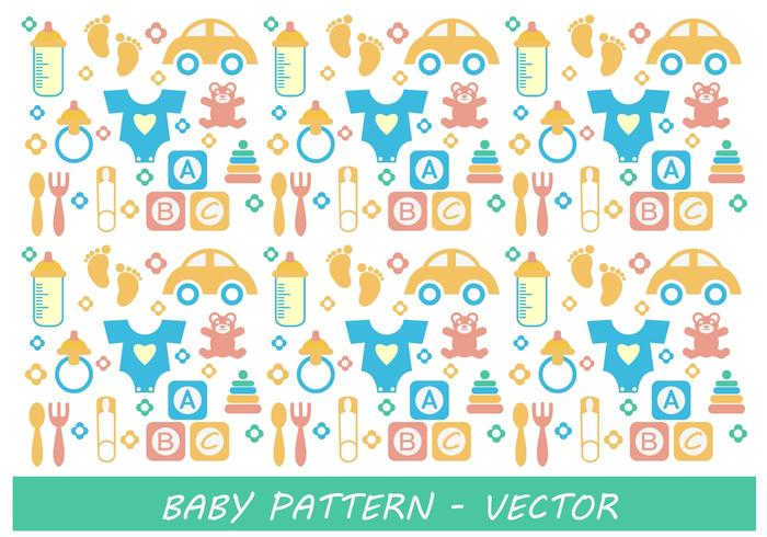 Baby patroon vector