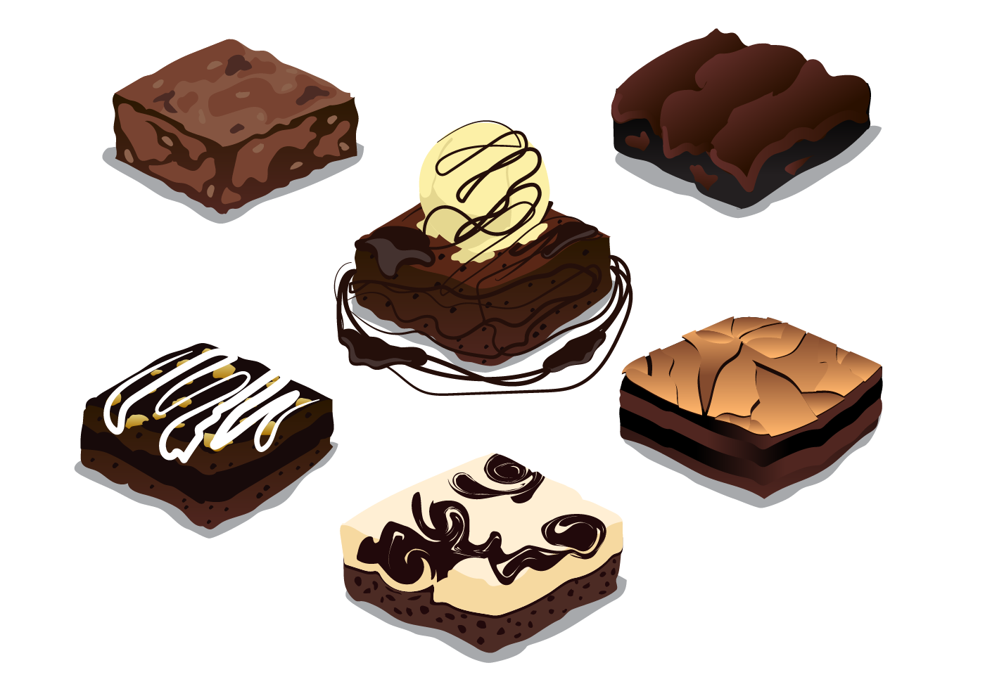 Free Brownie Vector Download Free Vector Art Stock