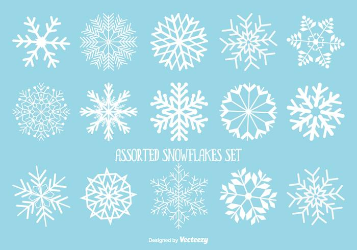 Assorted Snowflakes Set