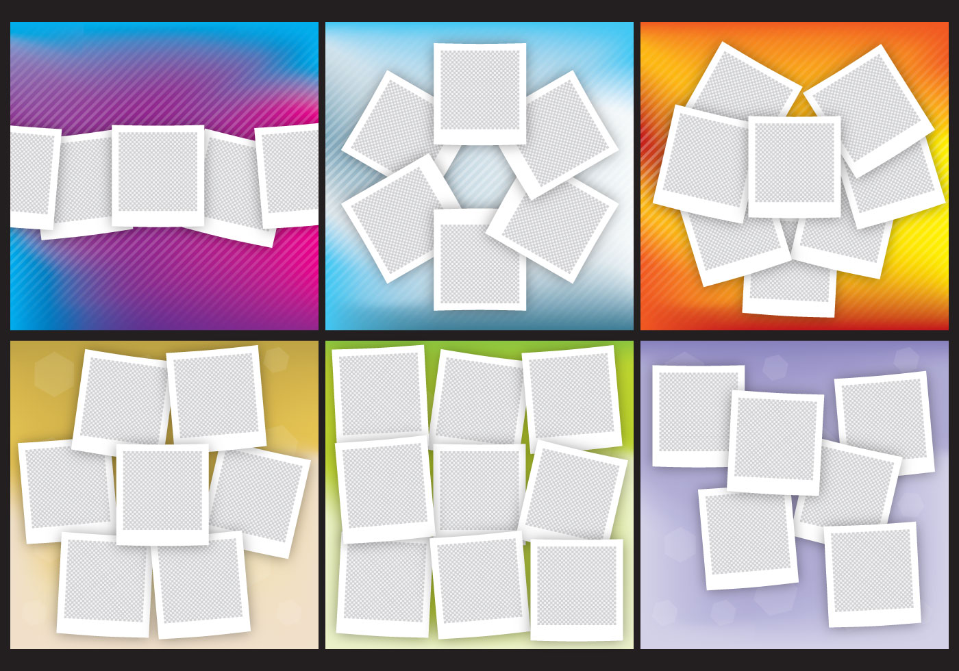 Polaroid Collages - Download Free Vector Art, Stock Graphics & Images