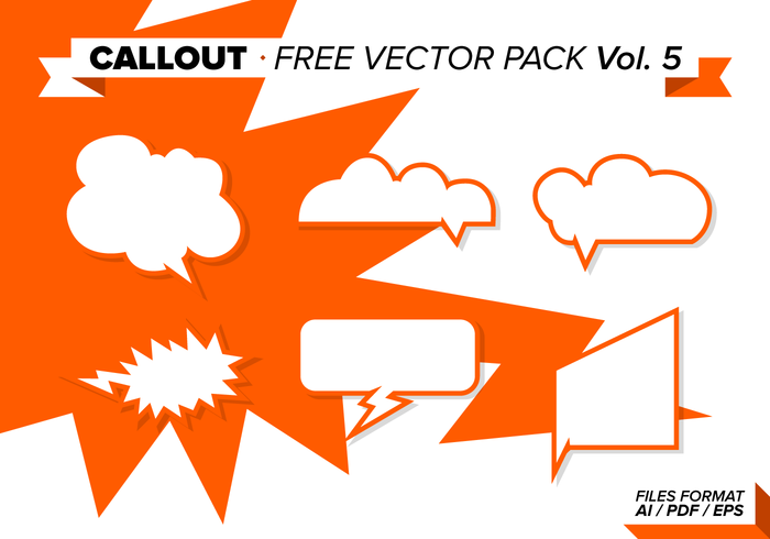 Callout Free Vector Pack Vol. 5