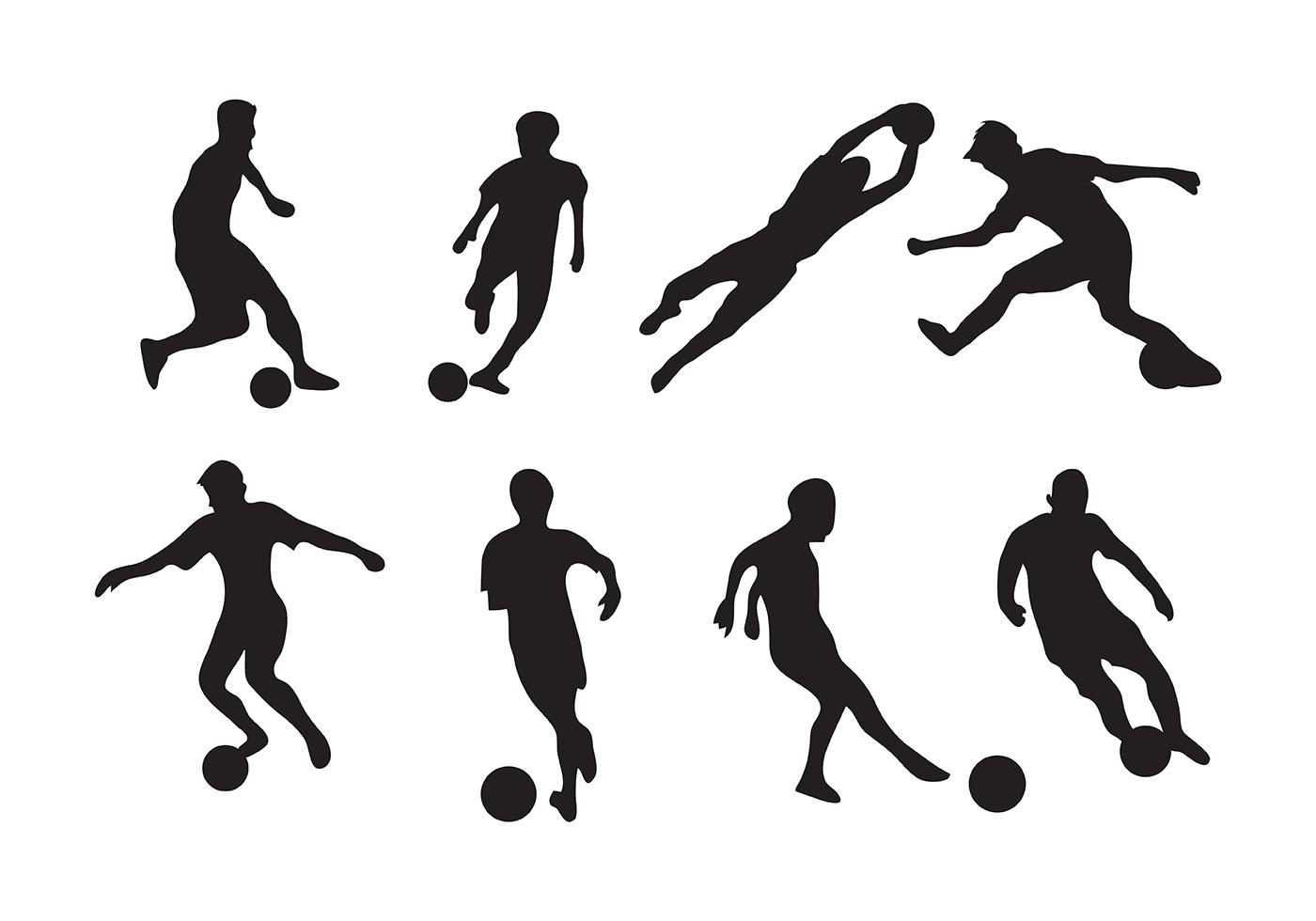 football team players clip art