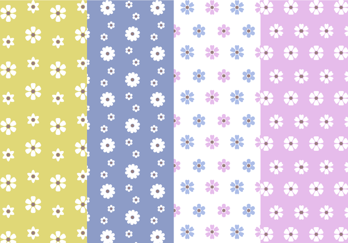 Free Flower Pattern Vector