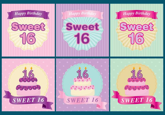 Sweet 16 Cards