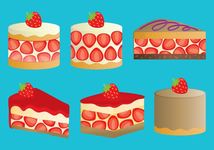 Aardbei shortcakes
