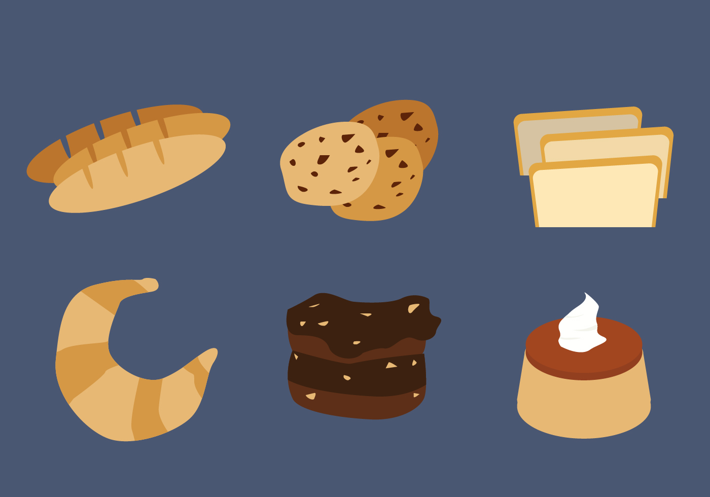 Free Brownie Cake Vector Download Free Vector Art Stock