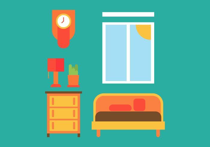 Gratis Kids Room Vector Pictogrammen # 20