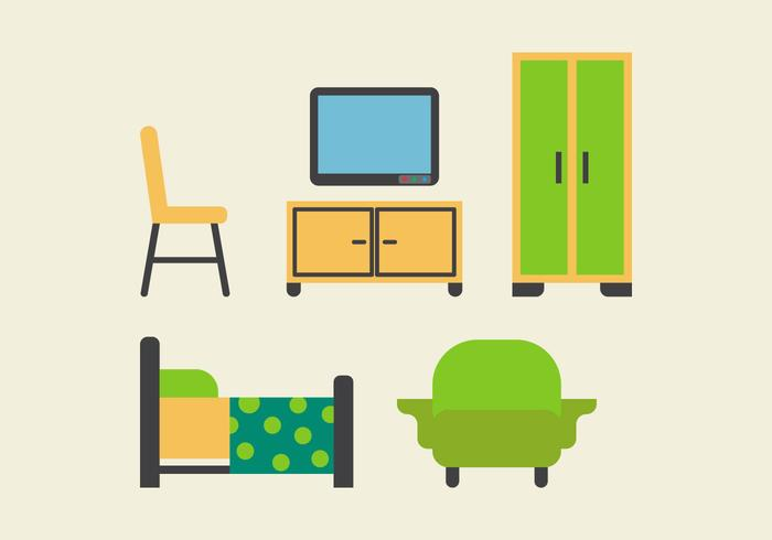 Free Kids Room Vector Icons #17