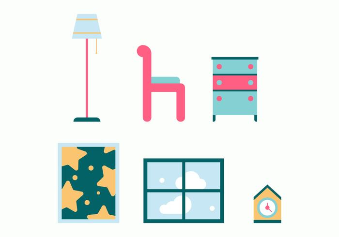 Free Kids Room Vector Icons #11
