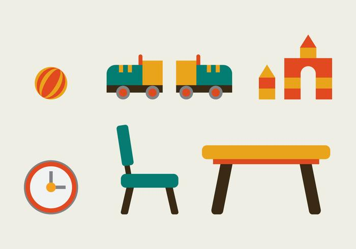 Free Kids Room Vector Icons #10
