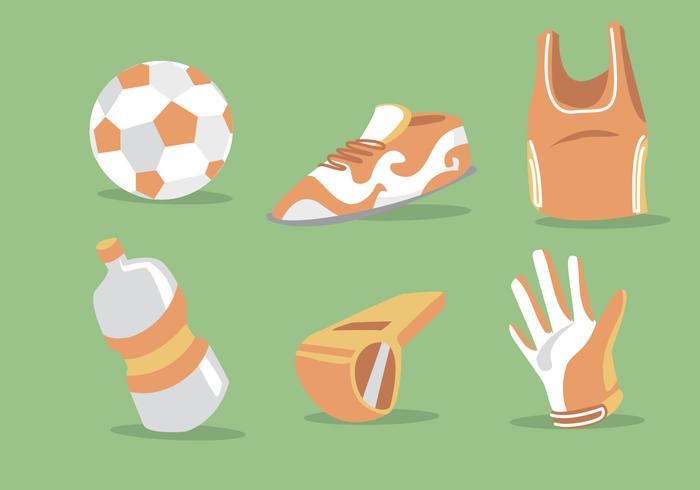 Futsal-Vektor-Set