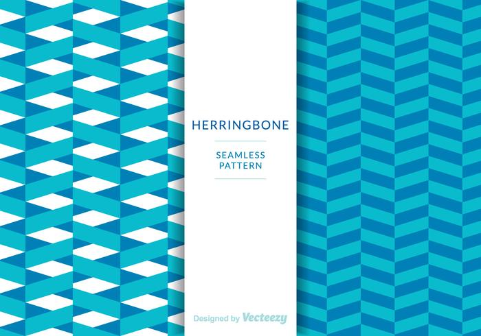Free Herringbone Patterns Vektor