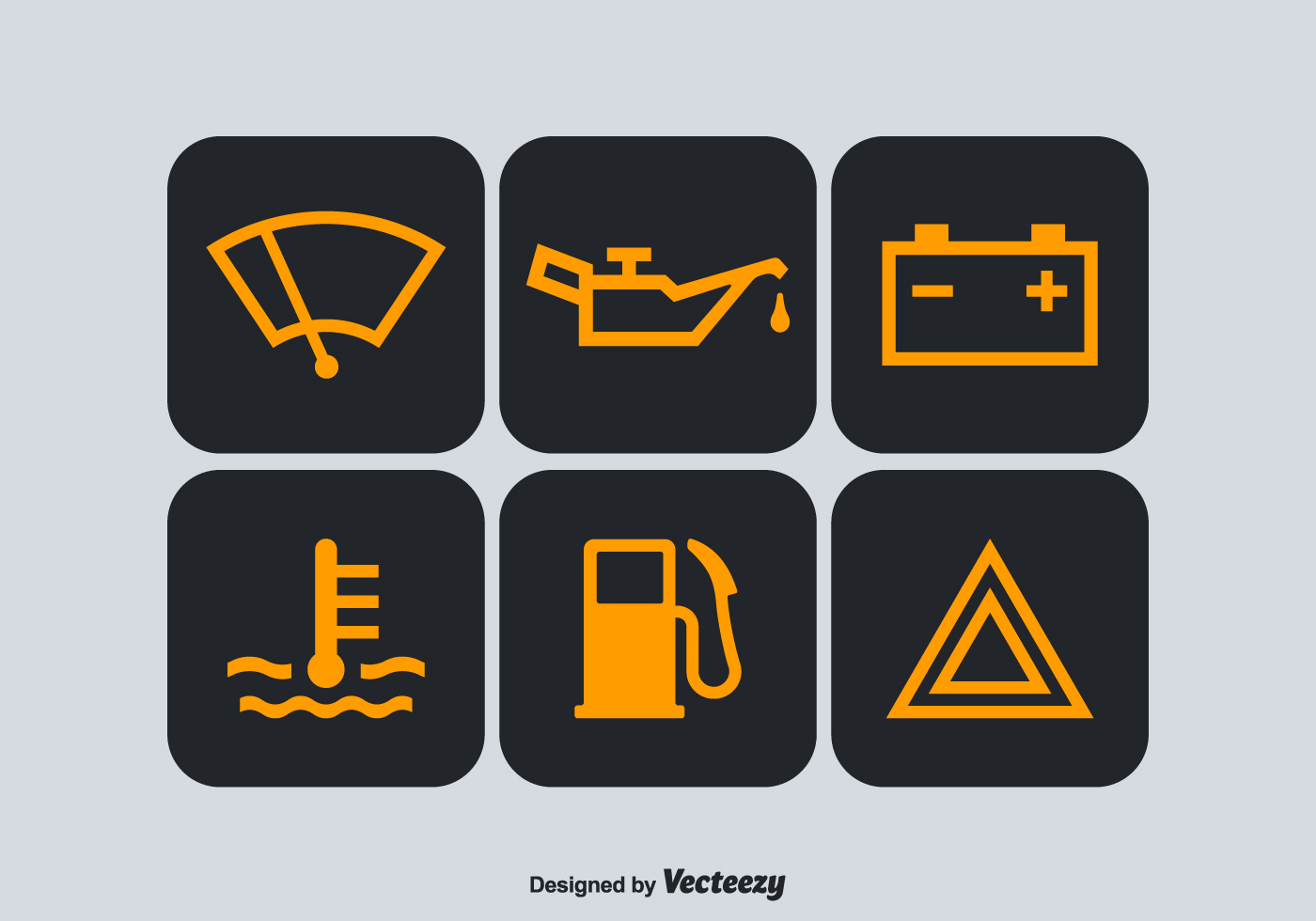 Free Car Dashboard Vector Symbols Download Free Vector Art Stock