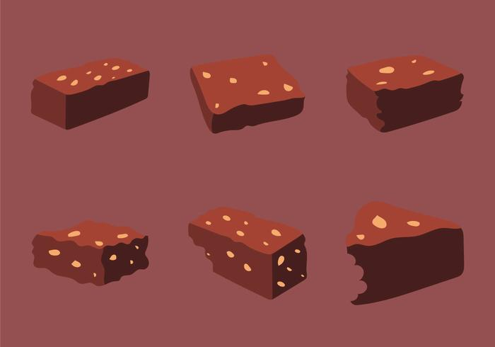 Free Brownie Vector Illustration