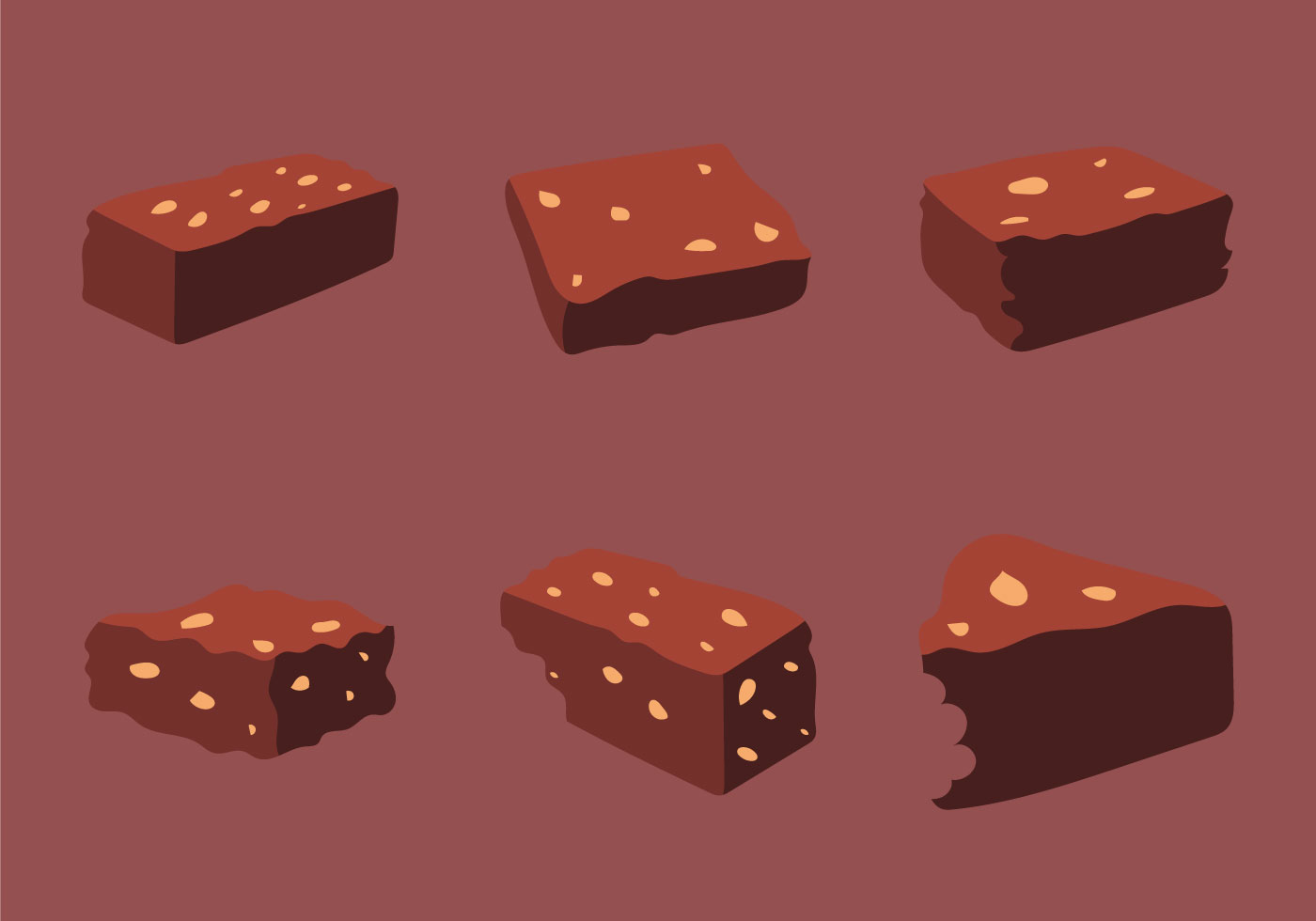 Free Brownie Vector Illustration Download Free Vector