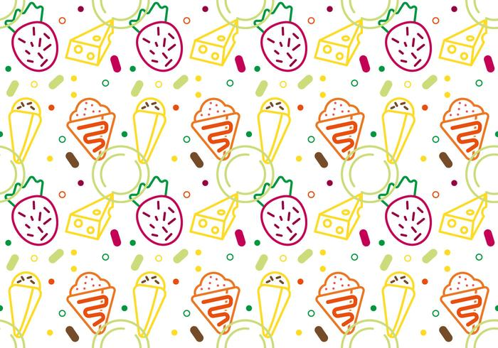 Free Crepes Pattern #2