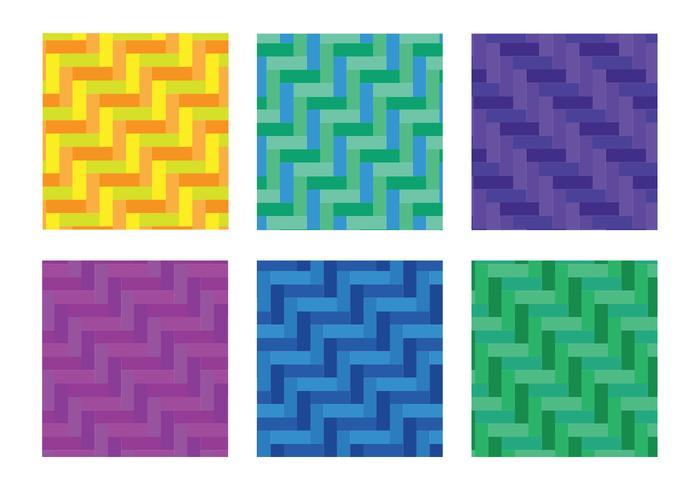 Sillbenmönster diagonal fullfärg vektor